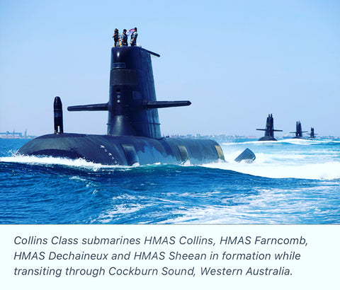 Collins Class submarines fleet to receive $6bn life-of-type extension (LOTE)