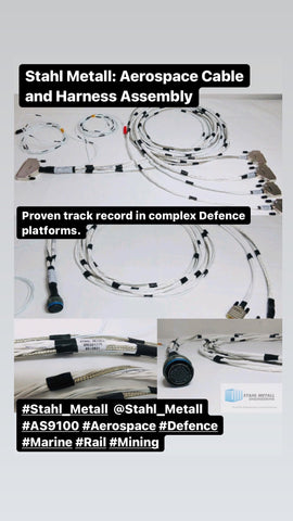 Aerospace Cable and Harness Assembly