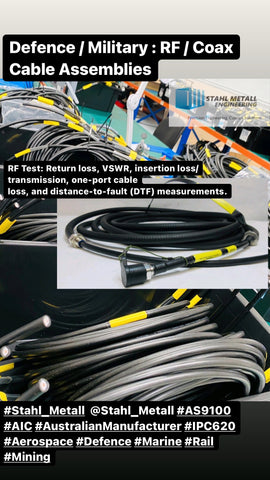 Defence / Military : RF / Coax Cable Assemblies