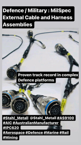 Defence / Military : MilSpec Cable and Harness Assemblies