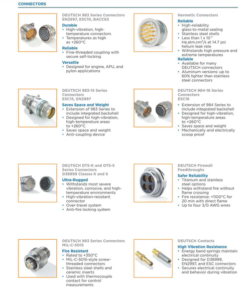 Engin Power Connectors