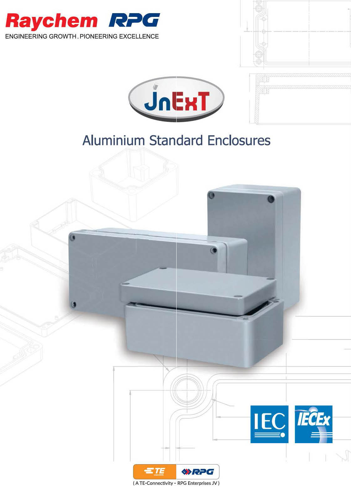Raychem RPG - IP68 Aluminum Standard Enclosures