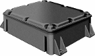 Glenair Series 140-103 Large Composite Junction Box