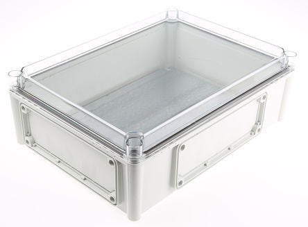 Polycarbonate Enclosure, IP66, IP67, Flanged, 380 x 280 x 130mm - SME506-081