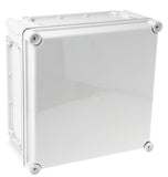 Polycarbonate Enclosure, IP66, IP67, Flanged, 280 x 280 x 130mm - SME581-363