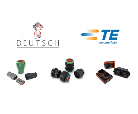 "Deutsch / TE DT06-08SD (CONNECTOR ""D"" KEYING) - MOQ 1"