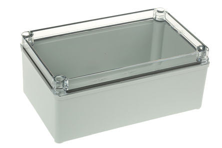 Polycarbonate Enclosure, IP66, IP67, 230 x 140 x 95mm - SME188-2285