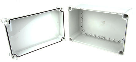 Polycarbonate Enclosure, IP66, IP67, 278 x 188 x 130mm  - SME188-2409