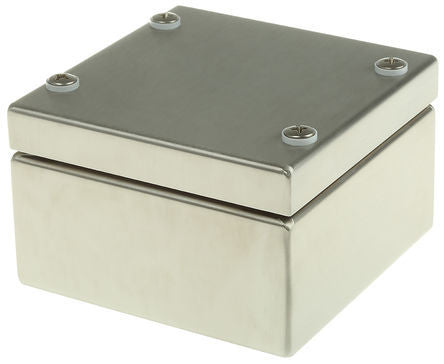 Stainless Steel IP66 Enclosures 100 x 100 x 61mm - FEALN314018