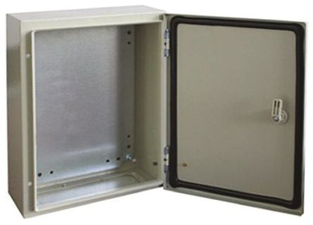 IP66 Wall Box, Steel, Grey, 600 x 600 x 210mm - SME7755340