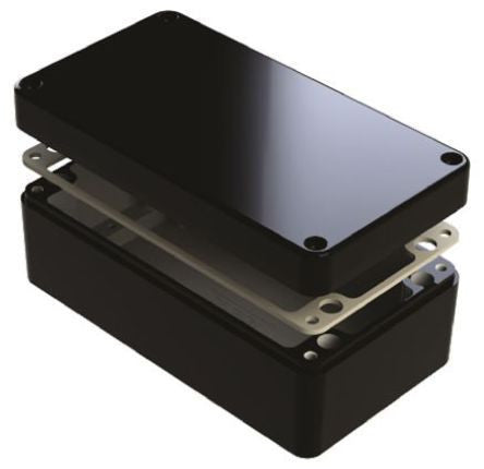IP68 Aluminium Enclosure Shielded 260 x 160 x 90mm - SMEDEL487-261609E-68