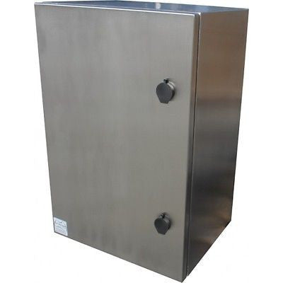 IP66 Stainless Steel Enclosures  600 x 400 x 200mm - FEAUSTUV642