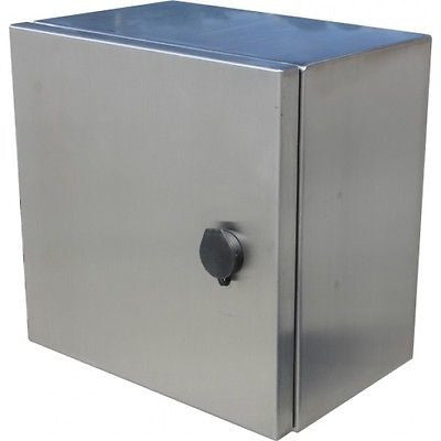 IP66 Stainless Steel Enclosures  300 x 300 x 200mm - FEAUSTUV332