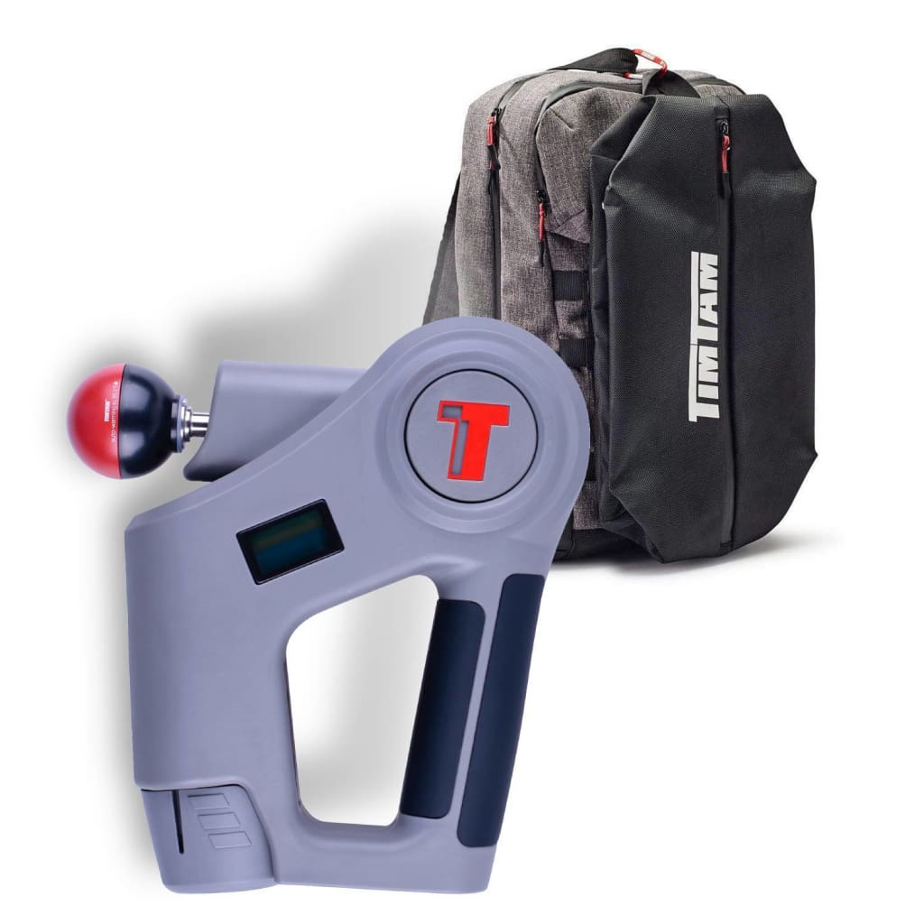 TimTam Power Massager Pro + Trainer Backpack (Ships Next Week)