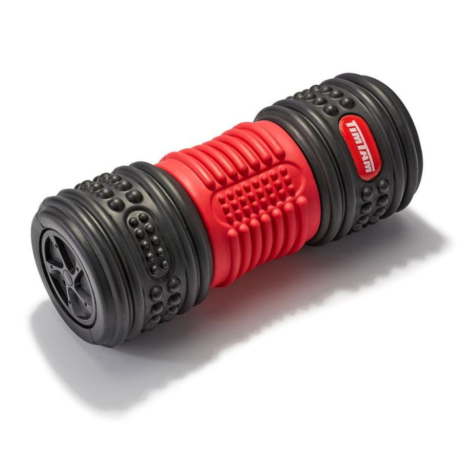 Vibrating Foam Roller 4-Speed Rechargeable Massage Balls & Rollers