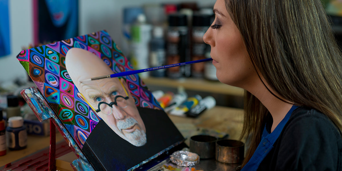 Mouth Foot Painting Artists Mfpa Usa