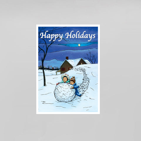 Happy Little Bluebirds- Sets of Postcards