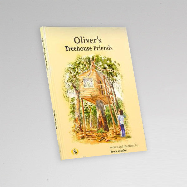 "Children's Book ""Oliver's Treehouse Friends"""