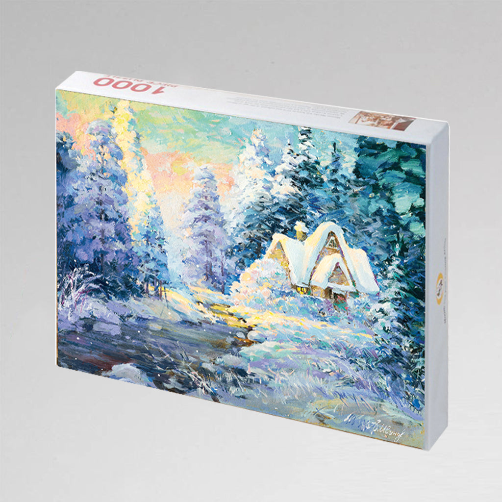 "NEW: Jigsaw Puzzle ""Winter Retreat"""