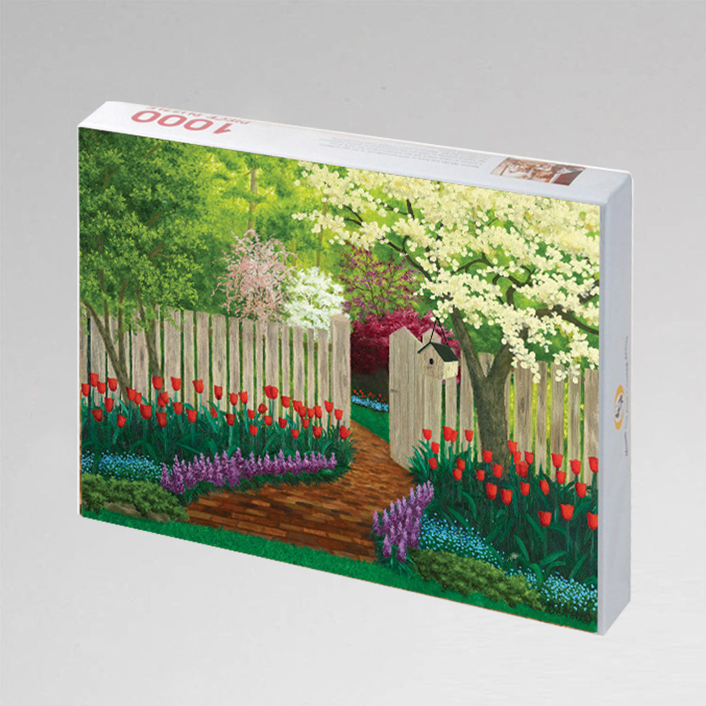 "NEW: Jigsaw Puzzle ""Country Garden"""