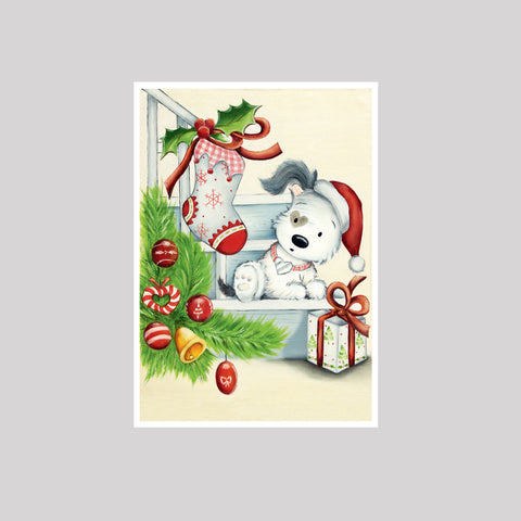 6 Assorted Festive Cards & Envelopes
