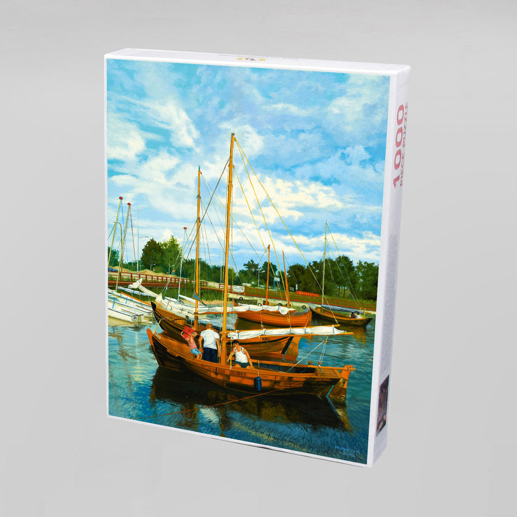 "NEW: Jigsaw Puzzle ""Sailing Boats"""
