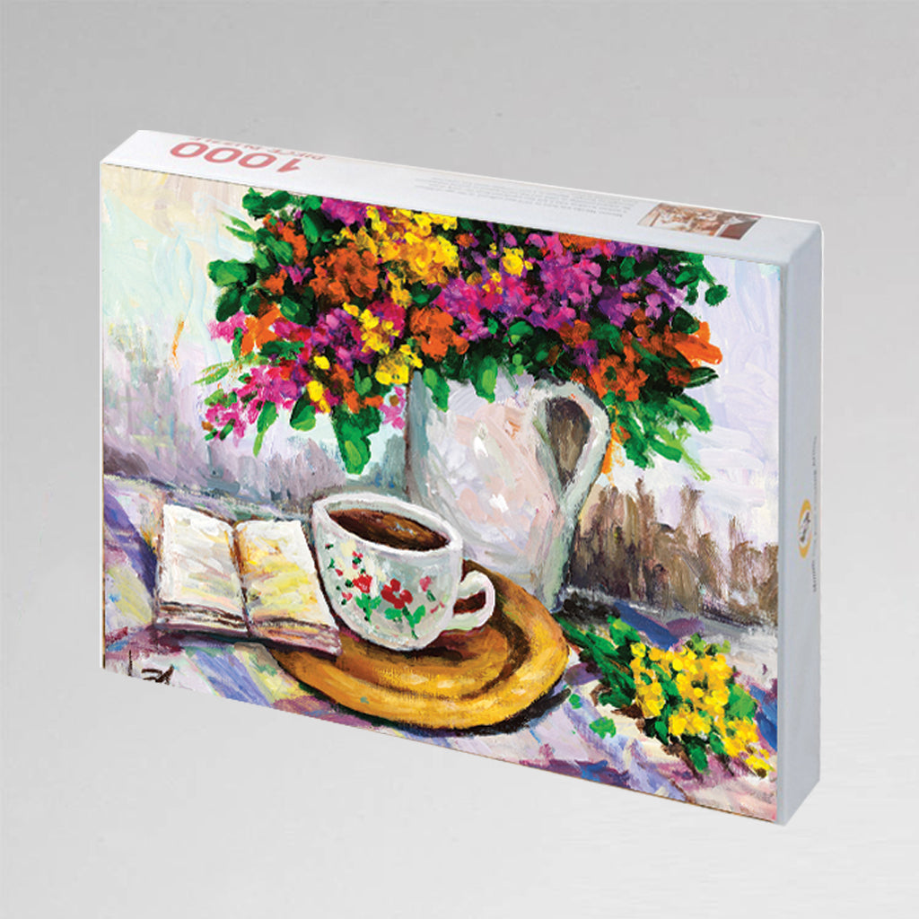 "NEW: Jigsaw Puzzle ""Tea Time"""