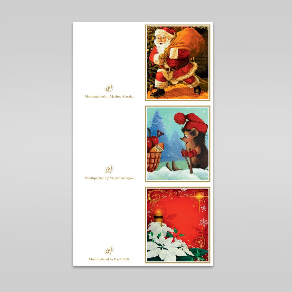 Festive Gift Tags- Sets of 3 Gift Tags