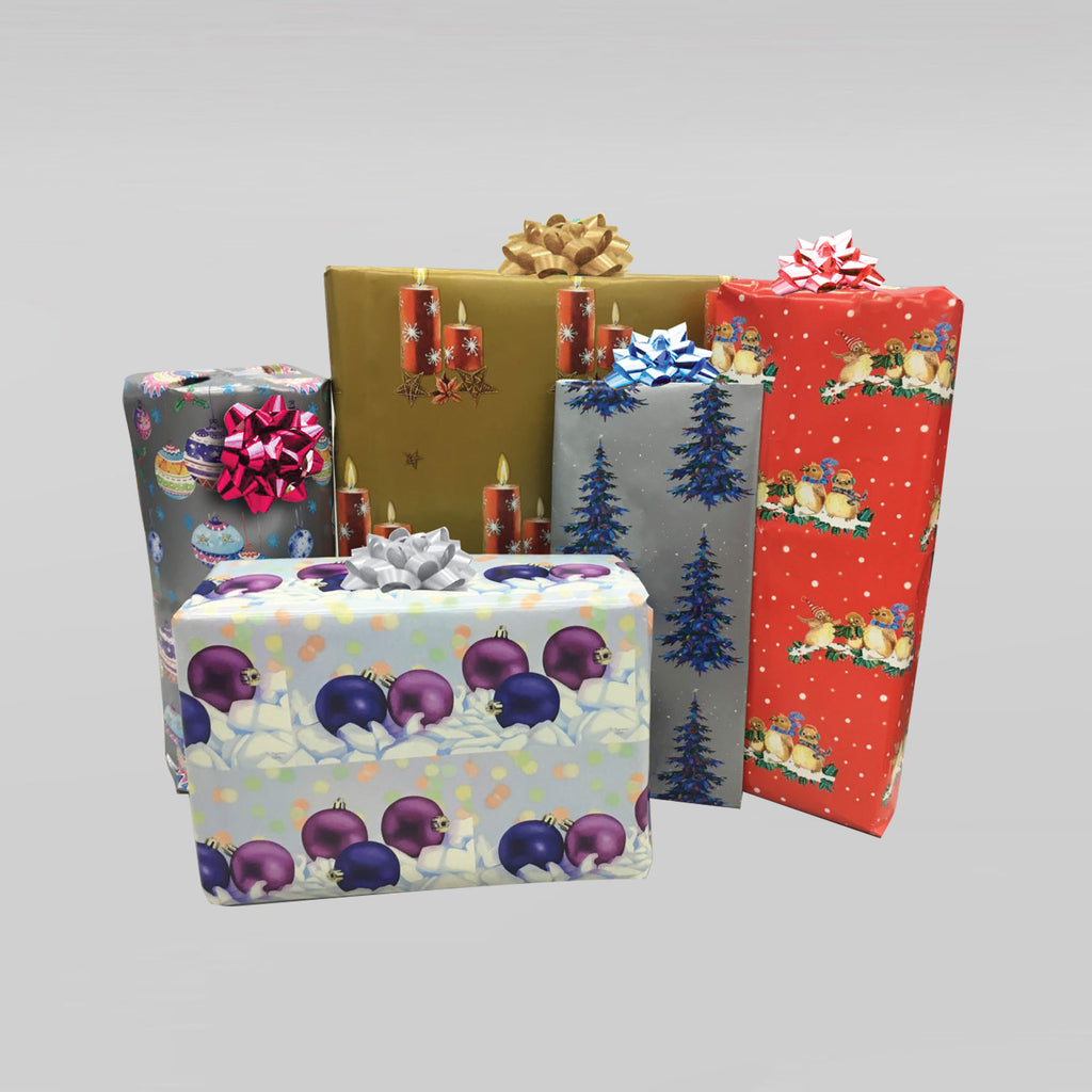 Festive Gift Wrap and Tags #1
