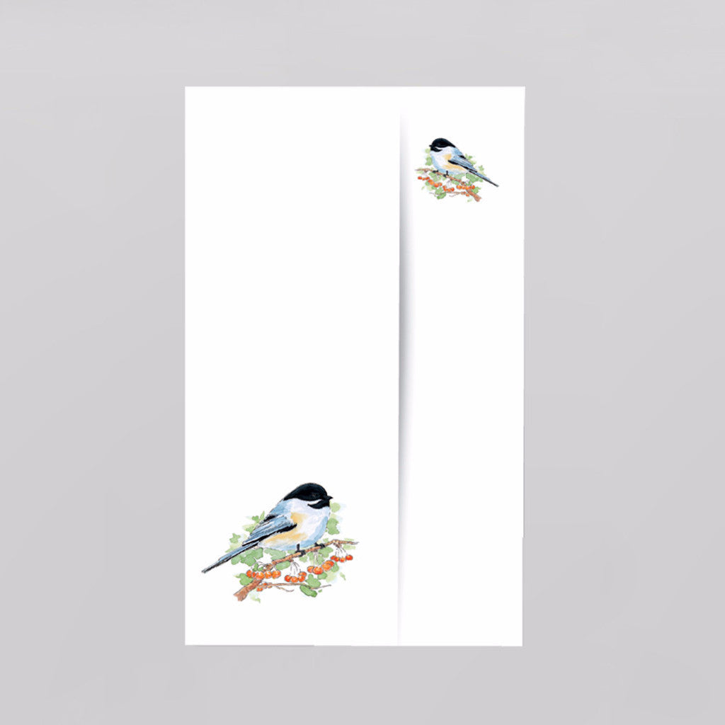 Chickadee by Christopher Kuster- Set of 5 Notelets with Envelopes