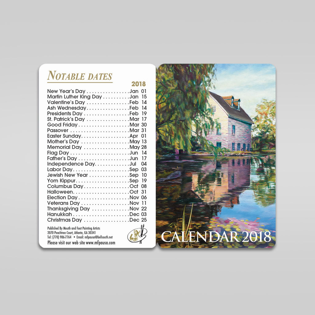 Pocket Calendar- Sets of 5