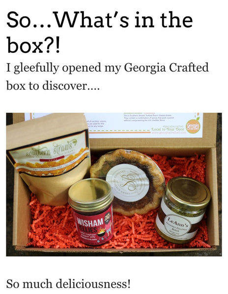 Flavor of Georgia Gift Box = Rave Reviews!