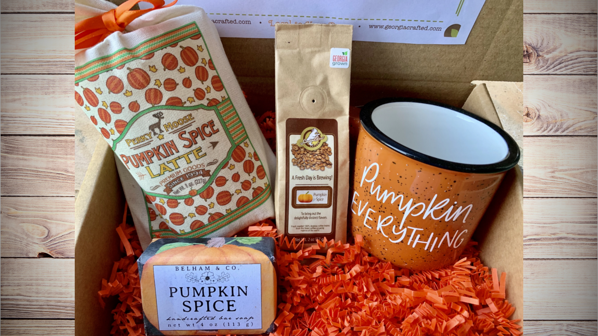 Pumpkin Spice Gift Box