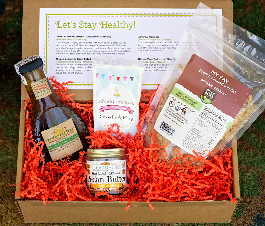 "January Subscription Box ""Let's Stay Healthy"""