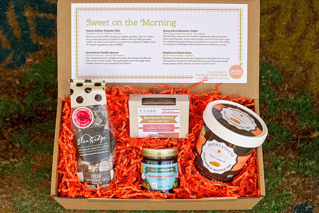 Sweet on the Morning Gift Box image