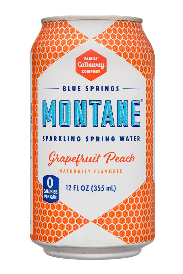 Montane Grapefruit Peach Sparkling Water - 2019 Flavor of Georgia Winner!