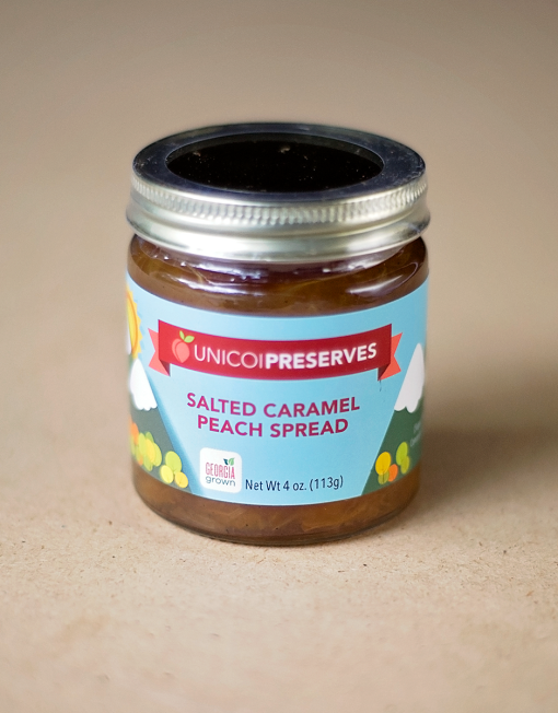 Salted Caramel Peach Spread