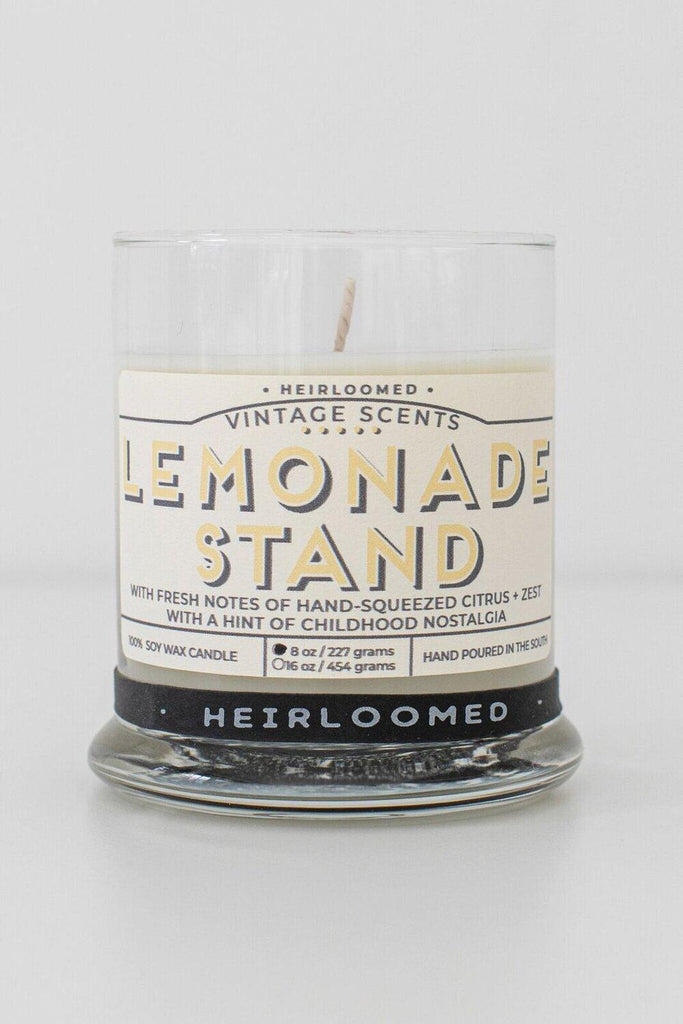 Heirloomed Lemonade Stand Candle