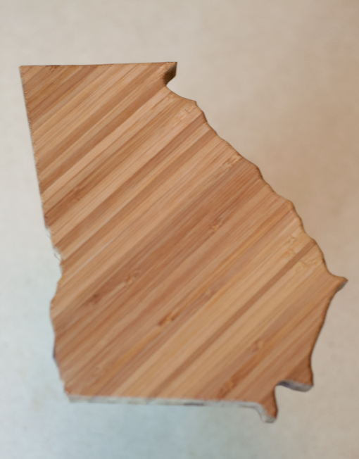 Georgia Bamboo Cheese Board