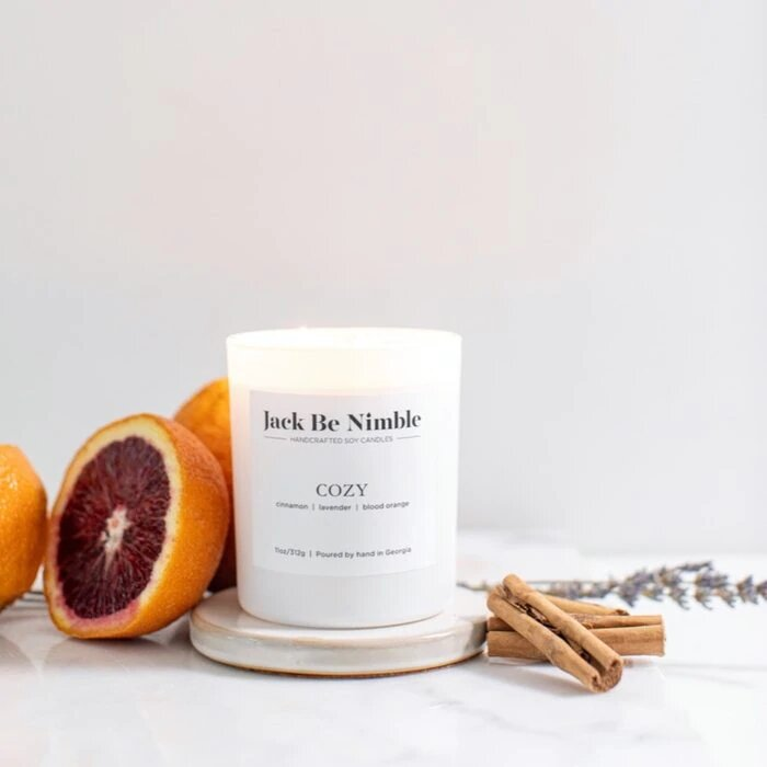 """Cozy"" Scented Candle"