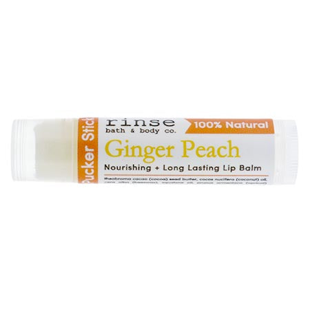 Ginger Peach Lip Balm