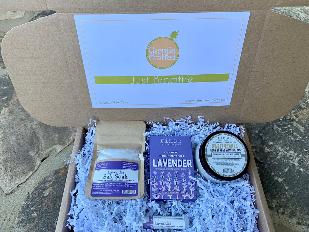 """Just Breathe"" Gift Box"
