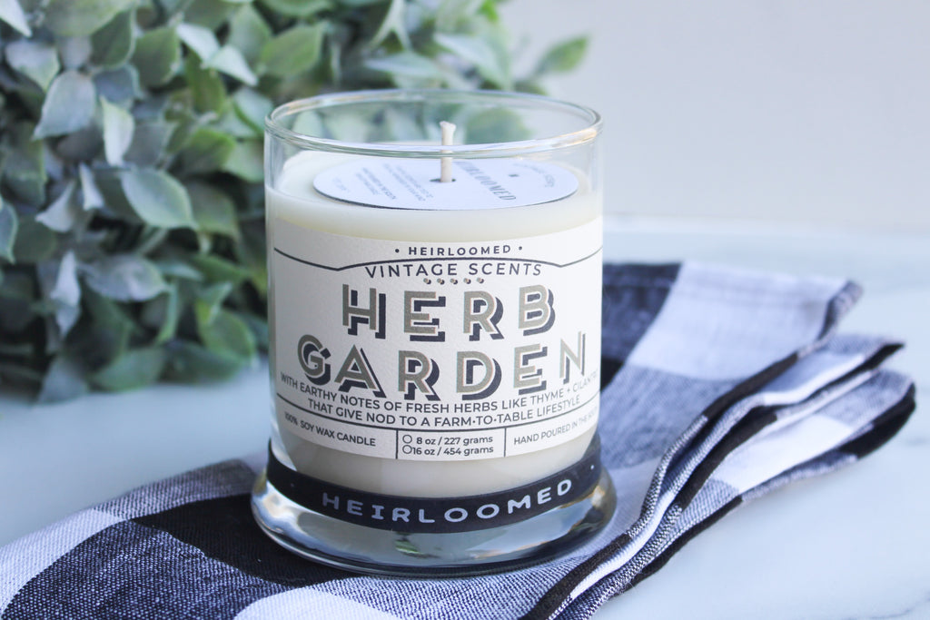 Heirloomed Herb Garden Candle