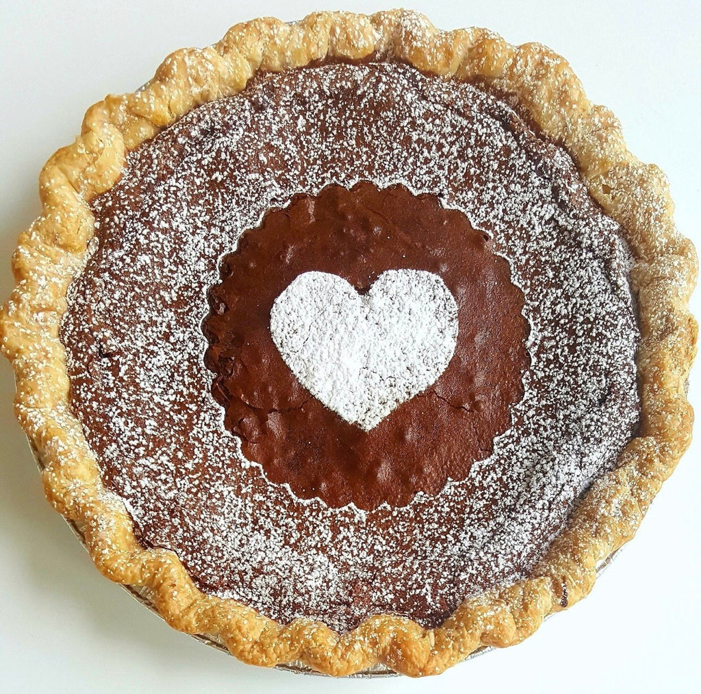 Chocolate Chess Mini Pie