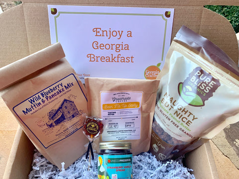 The Best Start to Your Day - Breakfast Gift Box