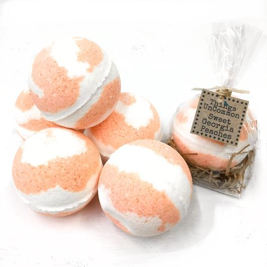 Sweet Georgia Peaches Bath Bomb