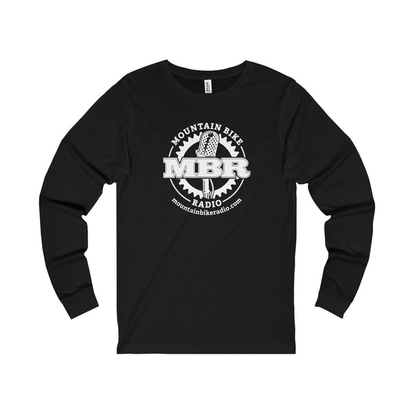 Men's MBR Logo Long Sleeve Tee - White Logo