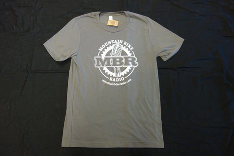 MBR Logo Tshirt - Slate with White - BLOWOUT SALE!