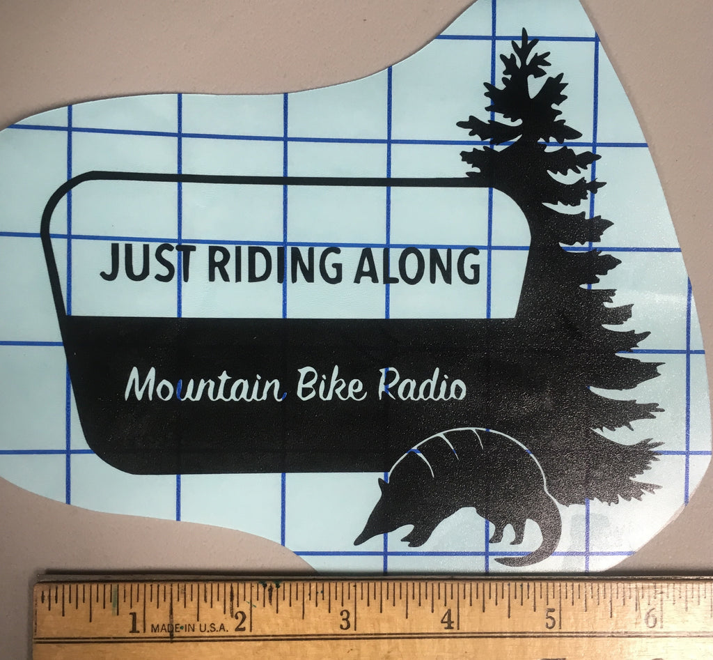 Outdoor JRA Cut Out Decal