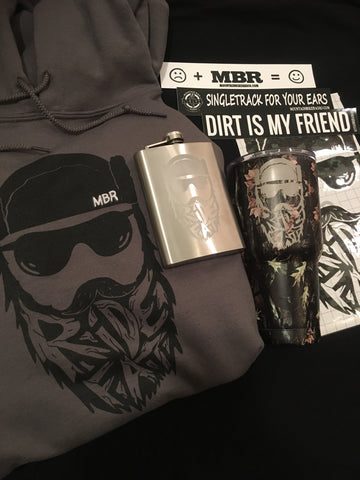 MBR - Ride Fat Hoodie-Camo Combo